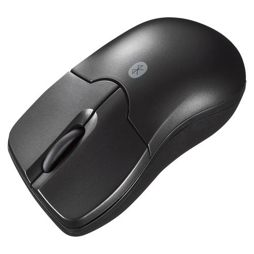 (まとめ) ワイヤレスマウス サンワサプライ Bluetooth3.0 ブルーLEDマウス ブラック MA-BTBL27BK 4969887692455 1個【5×セット】