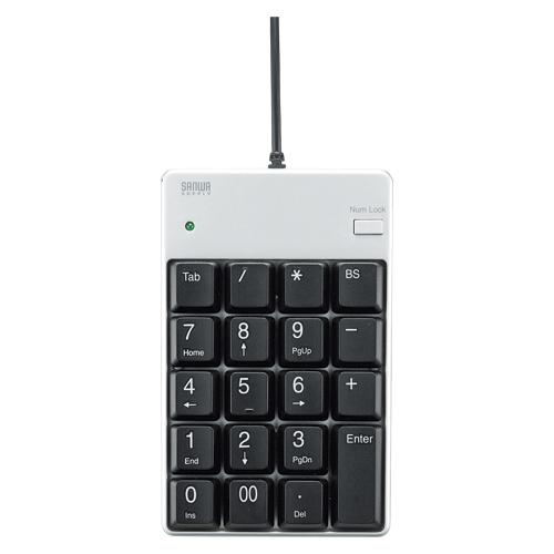 (まとめ) テンキー サンワサプライ USBテンキー NT-17UH2PKN 4969887692899 1個【5×セット】