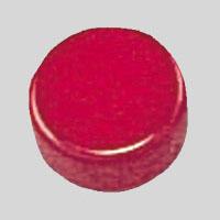 【マラソンでポイント最大44倍】(まとめ) マグネット用品 クラウン スクールマグタッチ 強力タイプ 赤 CR-MG18S-R 4953349059764 1個【50×セット】