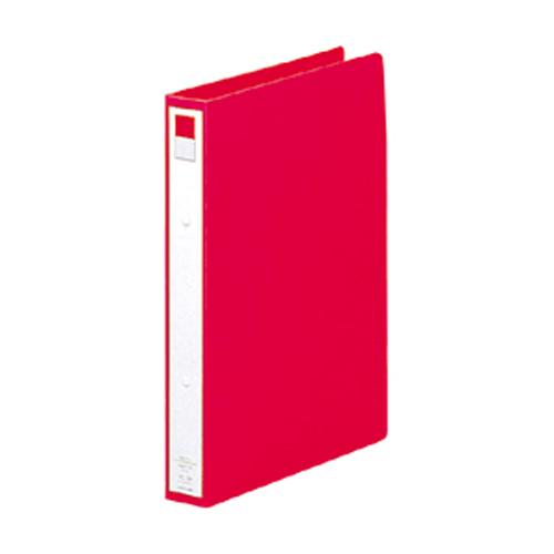 (まとめ) リングファイル リヒトラブ リングファイル 赤 F-877-1 4903419138707 1冊【30×セット】