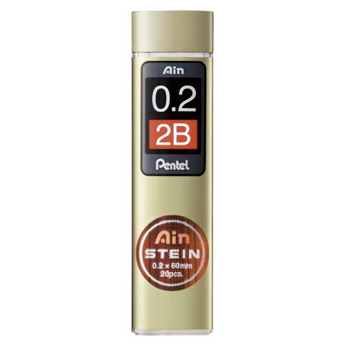 筆記具 シャープ替芯 Ain替芯 激安通販ショッピング シュタイン まとめ 高級品 ぺんてる C272W-2B 1個 硬度:2B 4902506336484 50×セット