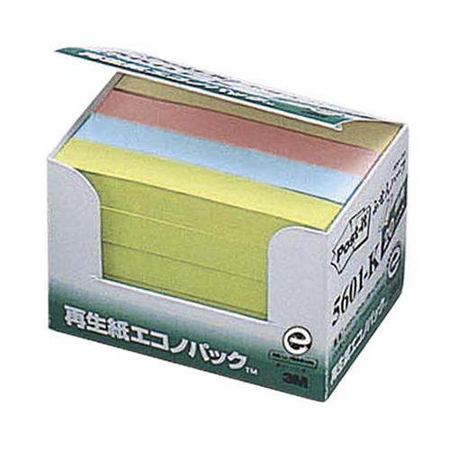 (まとめ) ふせん スリーエム ポスト・イット[R] 製品 エコノパック[TM]製品シリーズ 20個入 紺色 5601-K 4519001104625 ●エコノパック 1箱【10×セット】