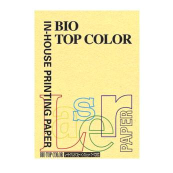 (まとめ) コピー用紙(カラー用紙) 伊東屋 バイオトップカラー イエロー BT103 4944257005738 1冊【20×セット】
