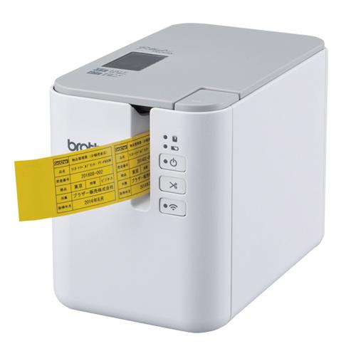 【単品】 ピータッチ ブラザー ピータッチ ラベルプリンター PT-P900W 4977766760881