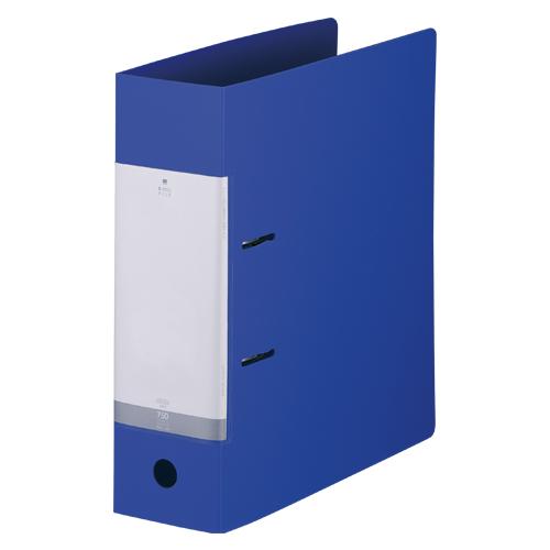(まとめ) リングファイル リヒトラブ リクエスト・D型リングファイル 青 G2290-8 4903419112288 1冊【20×セット】