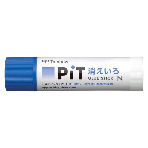 (まとめ) スティックのり トンボ鉛筆 消えいろピット PT-NC 4901991014945 ●容量:約22g 1本【50×セット】