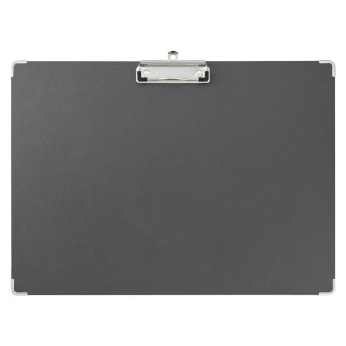 (まとめ) クリップボード キングジム 用箋挟み 黒 8337クロ 4971660042050 ●規格:A3判 1枚【30×セット】