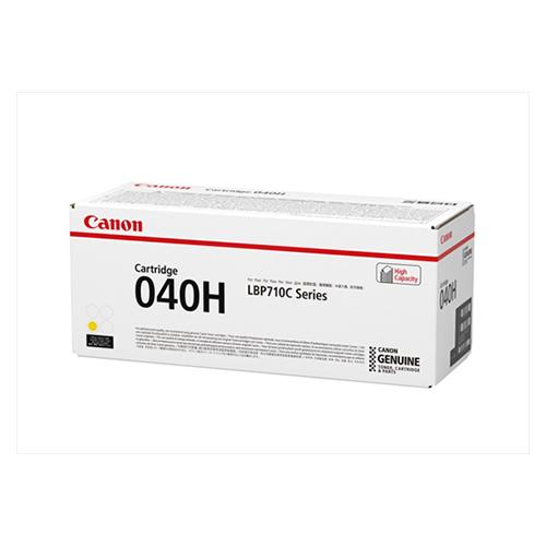【単品】 カラーレーザートナー キヤノン カラーレーザートナー イエロー CRG-040HYEL 4549292058246 ●対応機種:LBP-712Ci●種別:純正