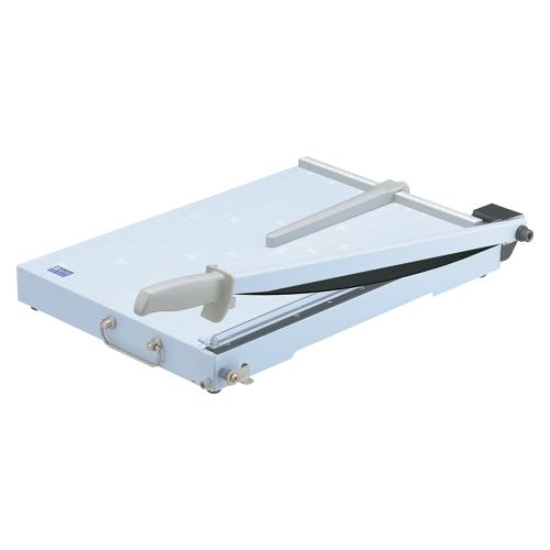 【単品】 ペーパーカッター オープン スチール裁断機 SA-202 4970115549212 ●規格:A3判●最大裁断幅:443mm