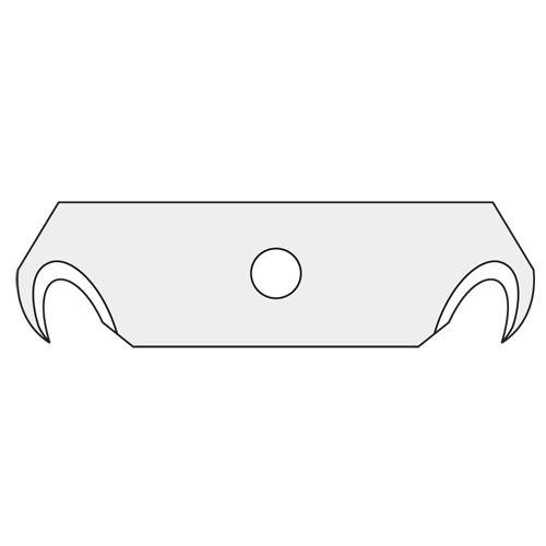 (まとめ) カッター オルファ セーフティカッター XB108F 4901165104526 ●品名:フックS刃 1個【30×セット】