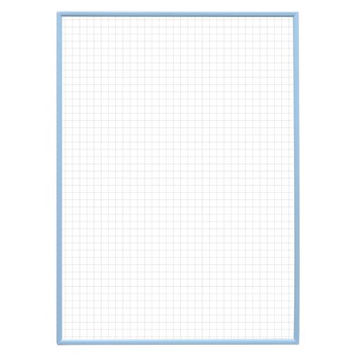 (まとめ) ホワイトボード マグエックス ホワイトボード10mm方眼(スチール製) MAWB-3042B-N 4535627304102 ●重量:380g 1枚【10×セット】