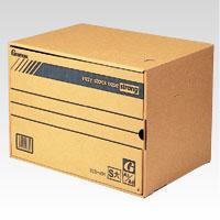 (まとめ) 文書保存箱 ゼネラル イージーストックケース ストロング 段ボール製 SCS-401 4973772000652 ●規格:A3/A4兼用●外寸:幅475×奥330×高340mm 1枚【10×セット】