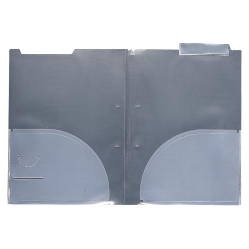 (まとめ) カルテホルダー クラウン カルテホルダー 見出し紙付き クリア CR-YG60-C 4953349030268 1個【5×セット】