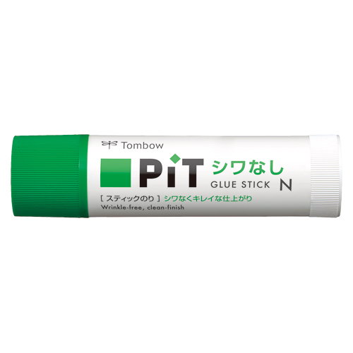 (まとめ) スティックのり トンボ鉛筆 シワなしピット PT-NAS 4901991650723 ●容量:約21g 1本【50×セット】