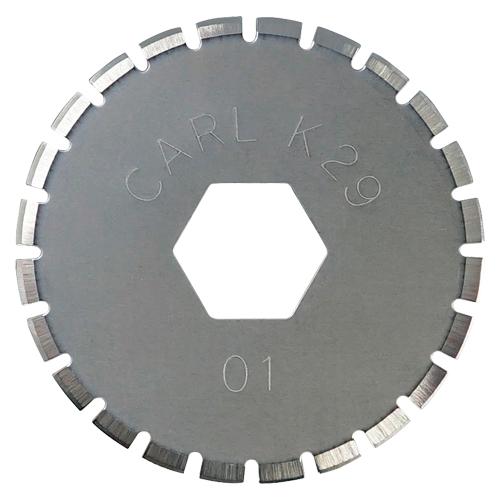 (まとめ) ディスクカッター カール ディスクカッター替刃 DCC-29 4971760982416 ●仕様:ミシン目刃 1袋【30×セット】