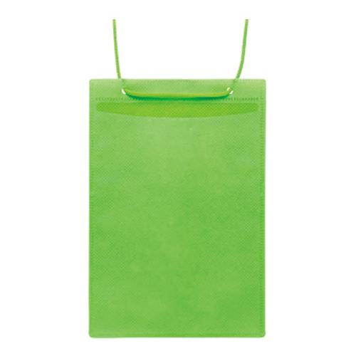 (まとめ) 名札 ソニック カラーイベント吊り下げ名札 1袋【5×セット】 4970116045546 VN-8539-G 緑