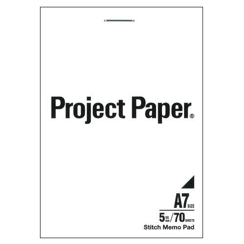 (まとめ) プロジェクトペーパー オキナ プロジェクトペーパー 白 PM3053 4970051030539 ●規格:A7判タテ型 1冊【50×セット】