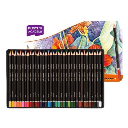 (まとめ) 色鉛筆 アコ・ブランズ カラーペンシル 2300225 5028252102025 ●仕様:36色/ケース入 1個【5×セット】