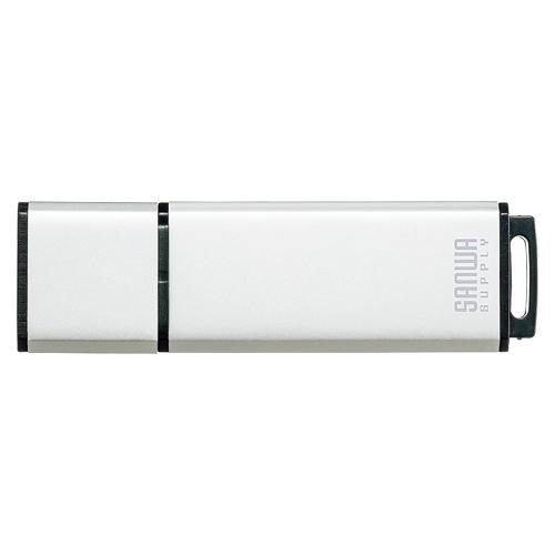 (まとめ) USBメモリ サンワサプライ USB2.0メモリ シルバー UFD-2AT16GSV 4969887824078 ●容量:16GB 1個【5×セット】