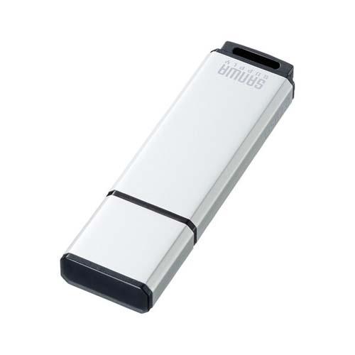 (まとめ) USBメモリ サンワサプライ USB2.0メモリ シルバー UFD-2AT32GSV 4969887824085 ●容量:32GB 1個【5×セット】