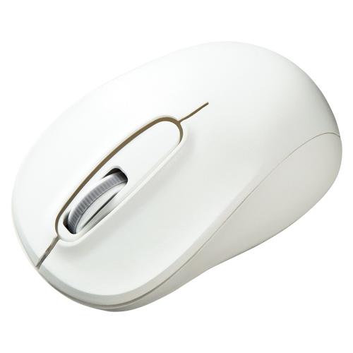 (まとめ) ワイヤレスマウス サンワサプライ ワイヤレスブルーLEDマウス ホワイト MA-WBL50W 4969887694749 1個【5×セット】