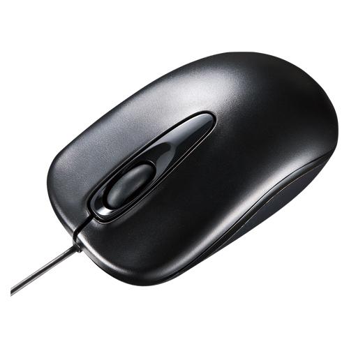 (まとめ) 有線マウス サンワサプライ 有線光学式マウス ブラック MA-R115BK 4969887694992 1個【10×セット】
