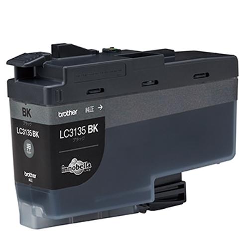PC関連用品 インクジェットカートリッジ まとめ ブラザー 本物◆ ブラック LC3135BK 1個 5×セット 対応機種:DCP-J988N MFC-J1500N 定番キャンバス 種別:純正 4977766788922
