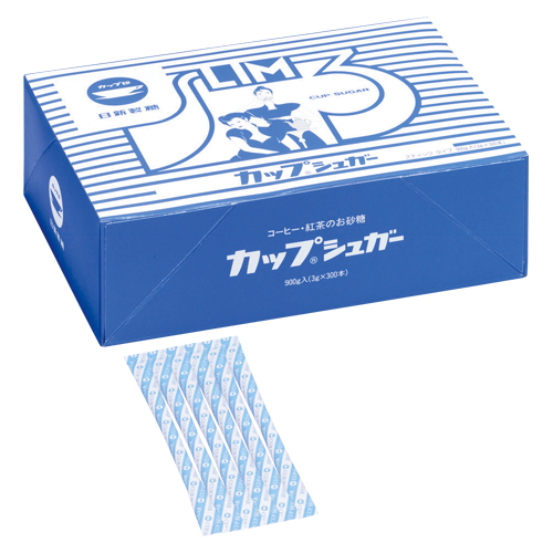 (まとめ) シュガー 日新製糖 カップシュガー 950421 4904001241898 1個【10×セット】