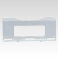 (まとめ) 折りたたみコンテナ 岐阜プラスチック工業 折りたたみコンテナーF-Box 透明 RS80X37 4938233495095 ●外寸:縦37×横80mm 1個【150×セット】