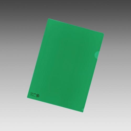 (まとめ) クリヤーホルダー リヒトラブ カラークリヤーホルダー 緑 F-78EC-7 4903419165246 1枚【150×セット】