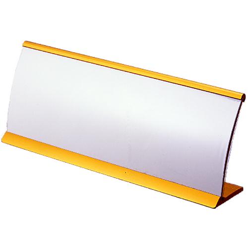(まとめ) カード立 クラウン R型カード立 ゴールド CR-KD21-GD 4953349090637 ●外寸:幅210×高79mm 1個【10×セット】