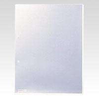 (まとめ) 穴付きクリヤーホルダー キングジム キングホルダー 乳白 780-100 4971660002078 ●仕様:マチなし 1個【5×セット】