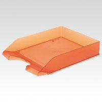 4943740800027 トレー レタートレー (まとめ) オレンジ クルーズ 1個【20×セット】 LT-500OR ●規格:A4判タテ型