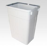 (まとめ) 分別用ゴミ箱 リス WORK&WORK 分別ボックス45 グレー 45LGY 4971881094579 ●容量:47l 1個【5×セット】