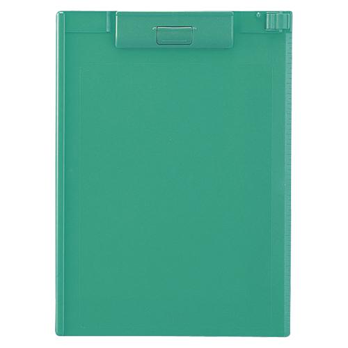 (まとめ) クリップボード リヒトラブ クリップボード ABS製 緑 A-977U-7 4903419836207 1枚【20×セット】