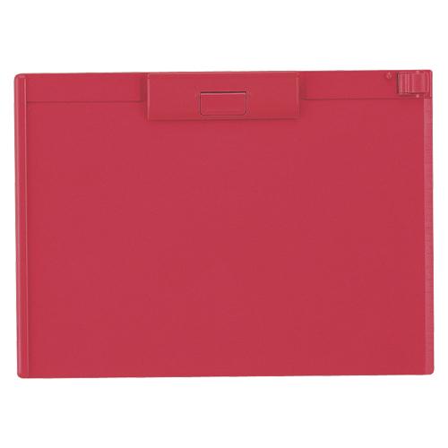 (まとめ) クリップボード リヒトラブ クリップボード ABS製 赤 A-987U-3 4903419836221 1枚【20×セット】