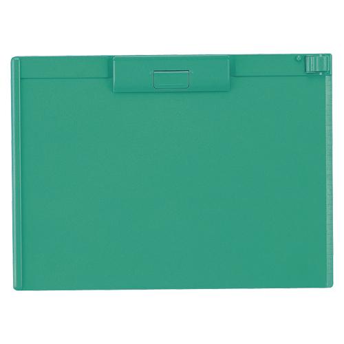 ファイル ケース クリップボード ABS製 クーポン配布中 まとめ 4903419836245 A-987U-7 激安格安割引情報満載 緑 新商品!新型 1枚 リヒトラブ 20×セット
