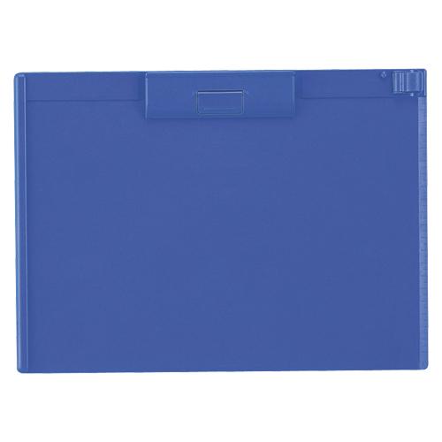 (まとめ) クリップボード リヒトラブ クリップボード ABS製 青 A-987U-8 4903419836252 1枚【20×セット】