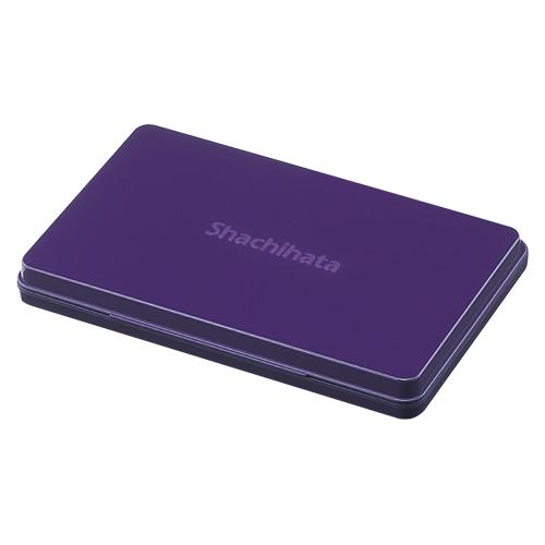 (まとめ) スタンプ台 シヤチハタ シヤチハタ スタンプ台 紫 HGN-4-V 4974052579011 1個【5×セット】