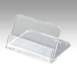 (まとめ) カード立 共栄プラスチック メタクリルL型豆カード立 L-35-5 4963346162947 ●使用時外寸:幅35×奥30×高22mm 1個【50×セット】