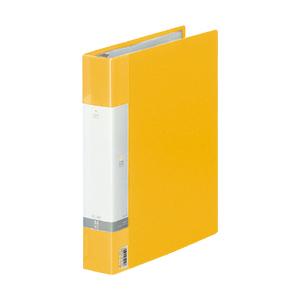 (まとめ) クリヤーファイル(ポケット差し替え式) リヒトラブ リクエスト・クリヤーブック 黄色 G3803-5 4903419349707 1冊【10×セット】