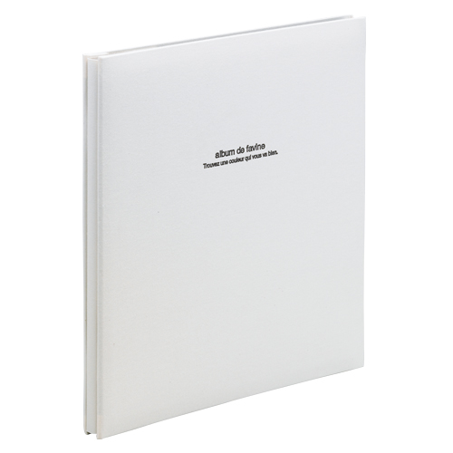(まとめ) フォトアルバム ナカバヤシ 100年台紙アルバム ホワイト アH-LD-191-W 4902205306337 1冊【5×セット】