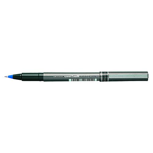 (まとめ) 水性ボールペン 三菱鉛筆 水性ボールペンユニボール 青 UB155.33 4902778180242 1本【100×セット】