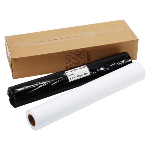 (まとめ) 大判インクジェット用紙 アジア原紙 大判インクジェット用紙 IJPR-6145N 4989561095198 ●サイズ:幅610mm×長45m●用紙幅:24インチ 1箱【5×セット】