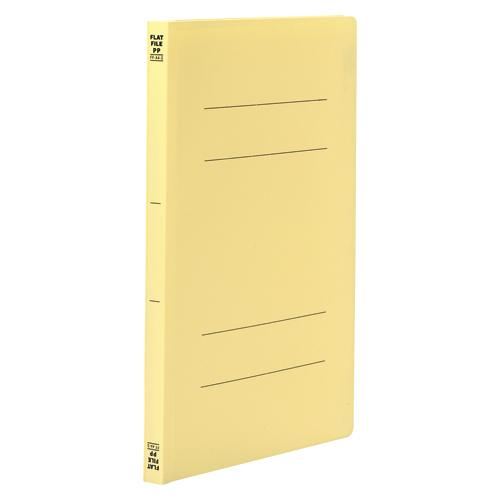 (まとめ) フラットファイル ビュートンジャパン フラットファイルPP イエロー FF-A4S-Y 4996297388012 1冊【100×セット】