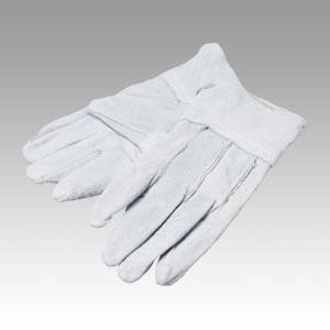 (まとめ) 作業用手袋 ミタニコーポレーション 牛床革手袋背縫い12双入 109277 4956668051242 ●全長:235mm 1組【5×セット】