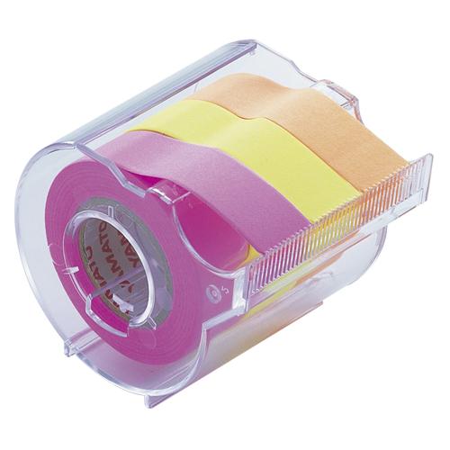 (まとめ) ふせん ヤマト メモックロールテープ RK-15CH-C 4903076006326 1個【30×セット】
