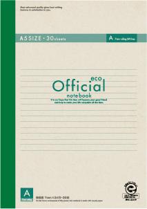 (まとめ) ノート アピカ オフィシャルノート 3A3FE 4970090330522 ●罫種類:A罫(7mm罫×24行) 1冊【100×セット】