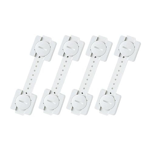 (まとめ) PC用耐震用品 サンワサプライ 耐震用ストッパー(4本入り) QL-55 4969887279175 1個【5×セット】