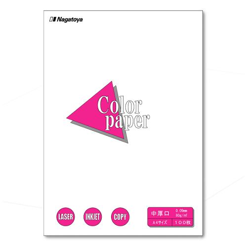 (まとめ) コピー用紙(カラー用紙) Nagatoya カラーペーパー 白 ナ-3201 4961411732019 1冊【20×セット】